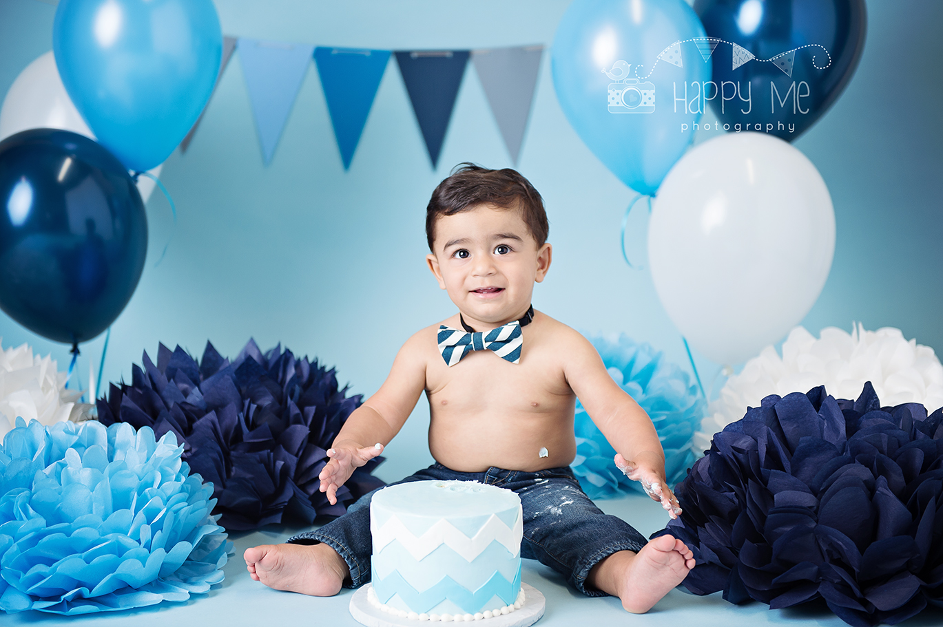 first birthday photo session bay area