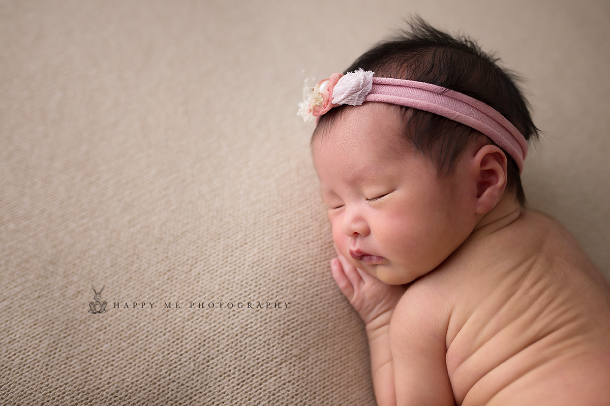 newborn photographer bay area baby girl