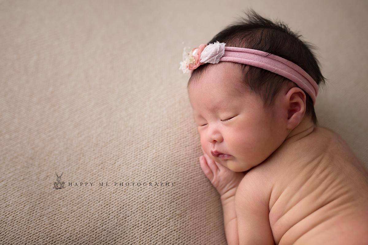 newborn photographer bay area baby girl