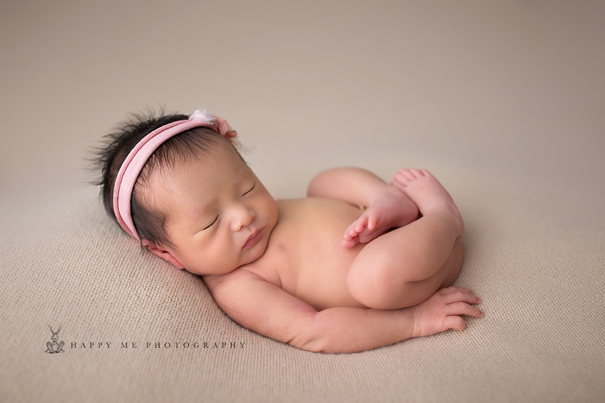 newborn photography bay area baby girl