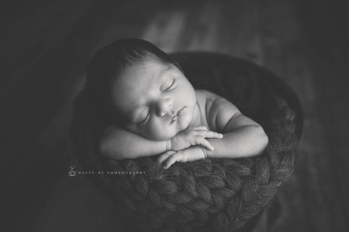 San Carlos newborn photography
