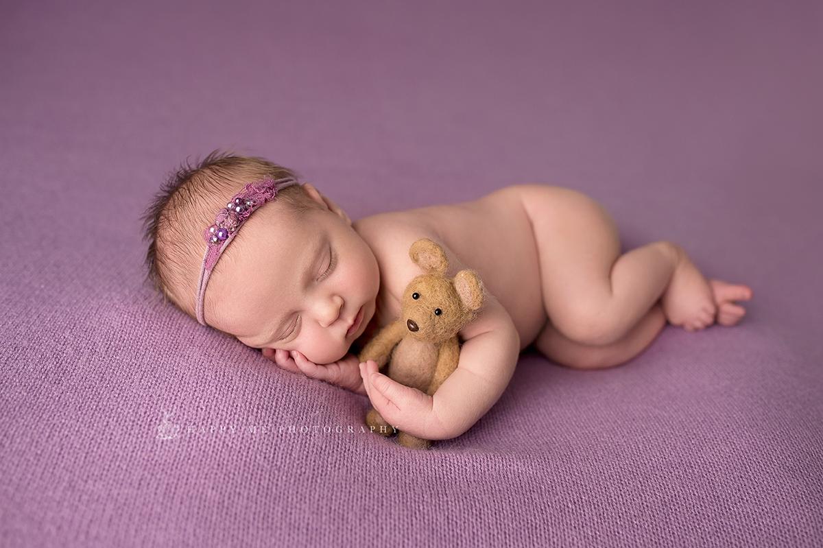 cute newborn picture in Belmont