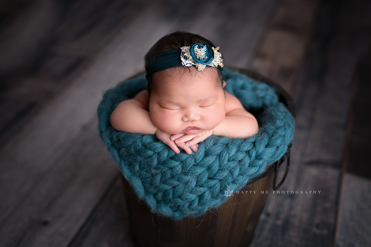 newborn session san carlos little lamb