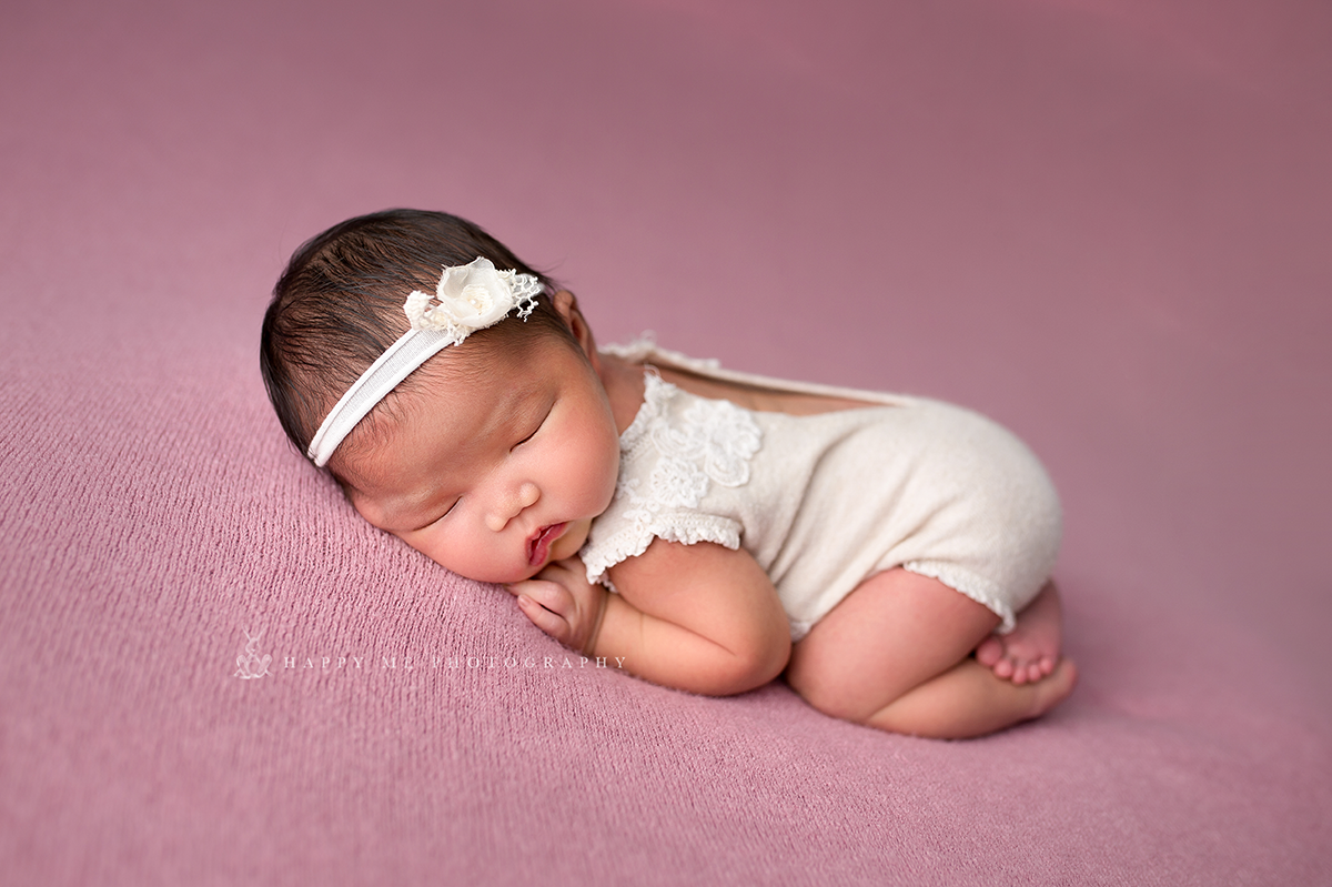 Newborn Session Near San Mateo
